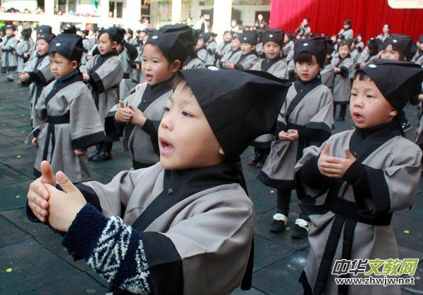 幼儿国学教育悄然升温