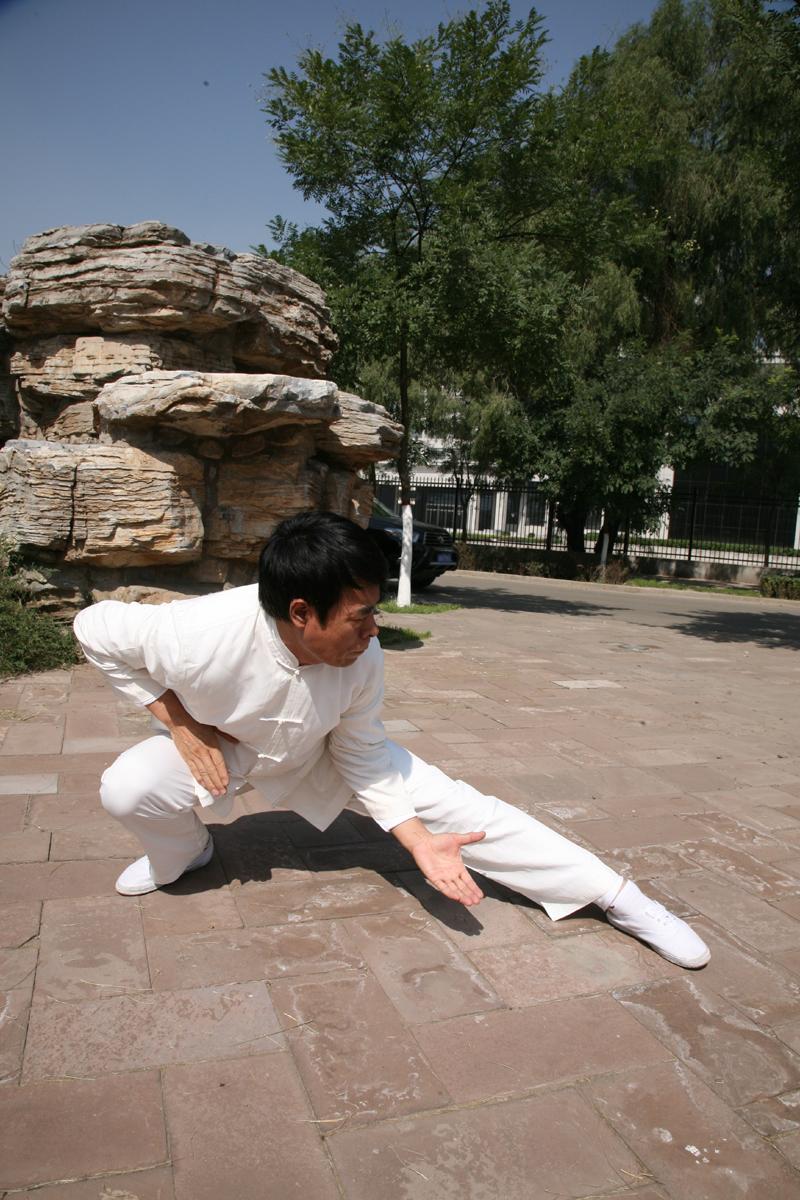 靳氏行義拳非物质文化遗产传承人靳有林
