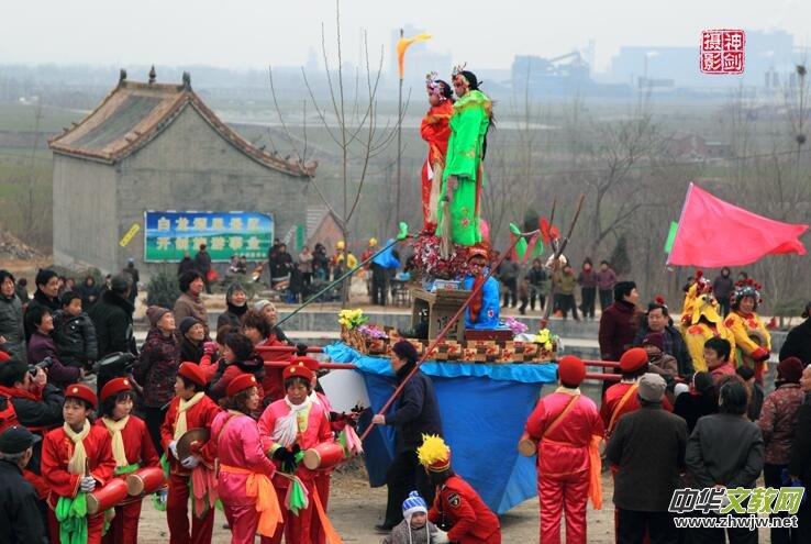 白龙潭庙会的传说