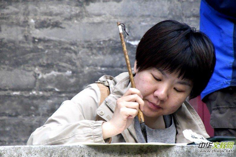 李月(爱娣)丁香诗会人物特写拍摄