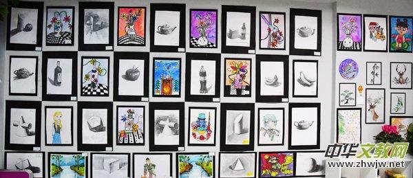 黄琴梅美学教育昌平校区举办第三届大艺术家分享画展