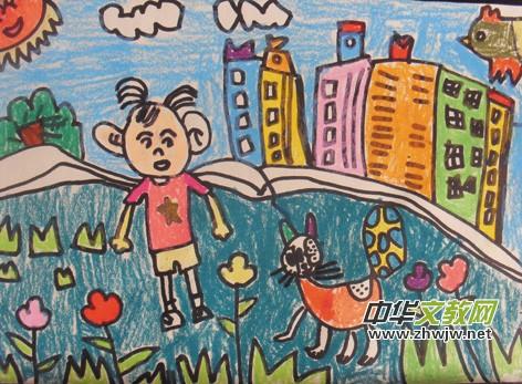 莒南新华中学九年级二班 李纪博 《多彩的鸟》指导老师:崔海泉   海绵